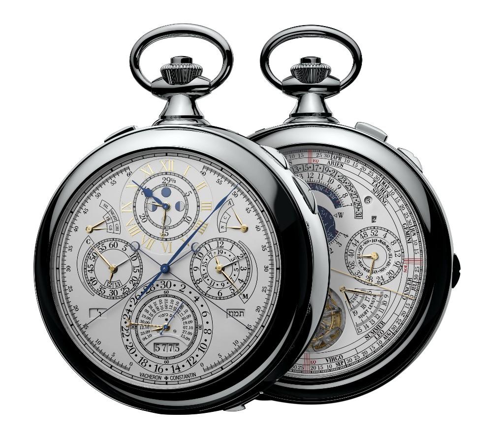La montre Vacheron Constantin présentée en 2015.