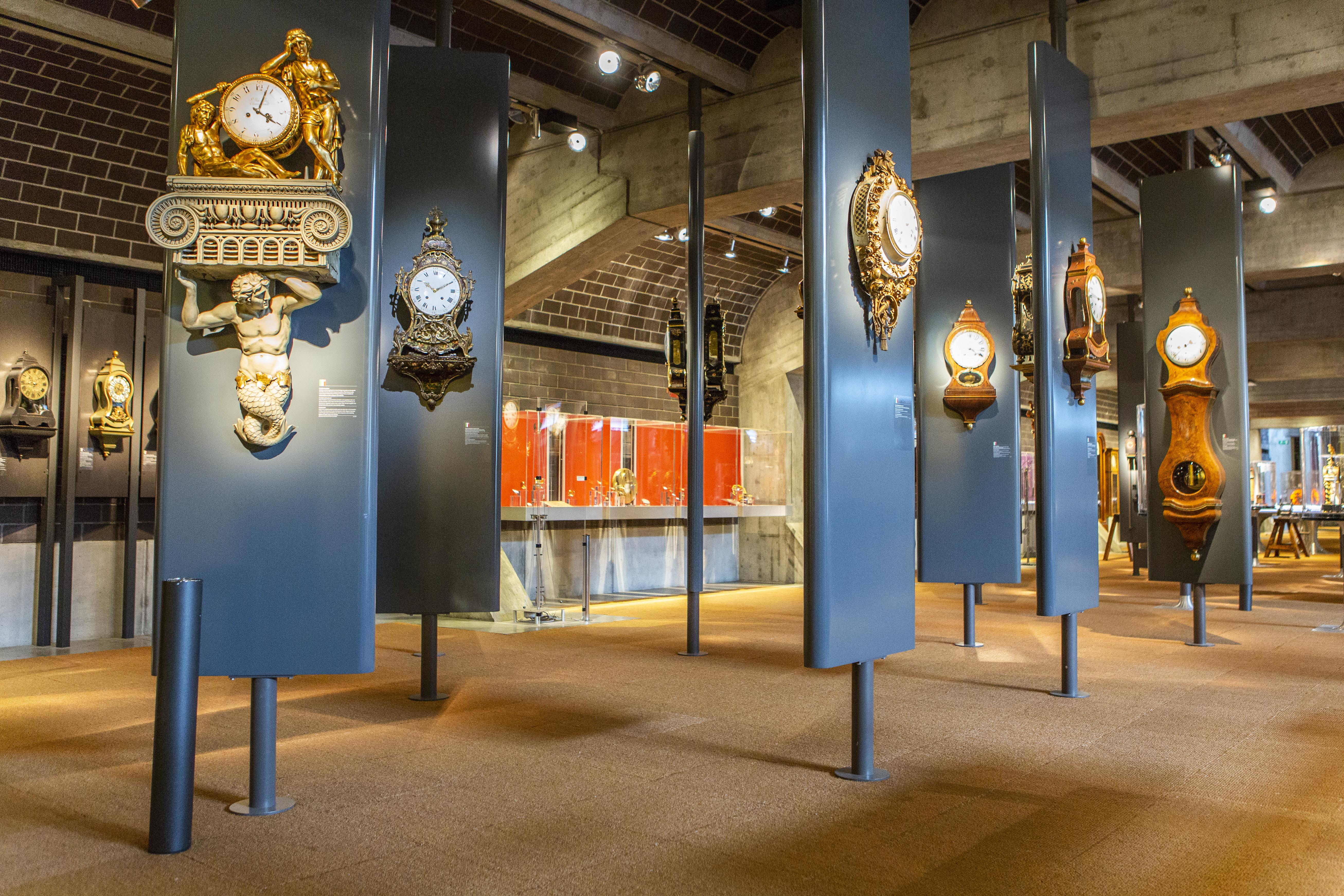 Ouverture d'un nouvel espace au sein de l'exposition permanente du Musée international d'horlogerie, en juin 2018.
