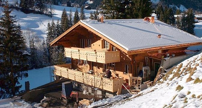 La pr sence de johnny hallyday gstaad soul ve de - Incroyable maison monolithique en suisse ...