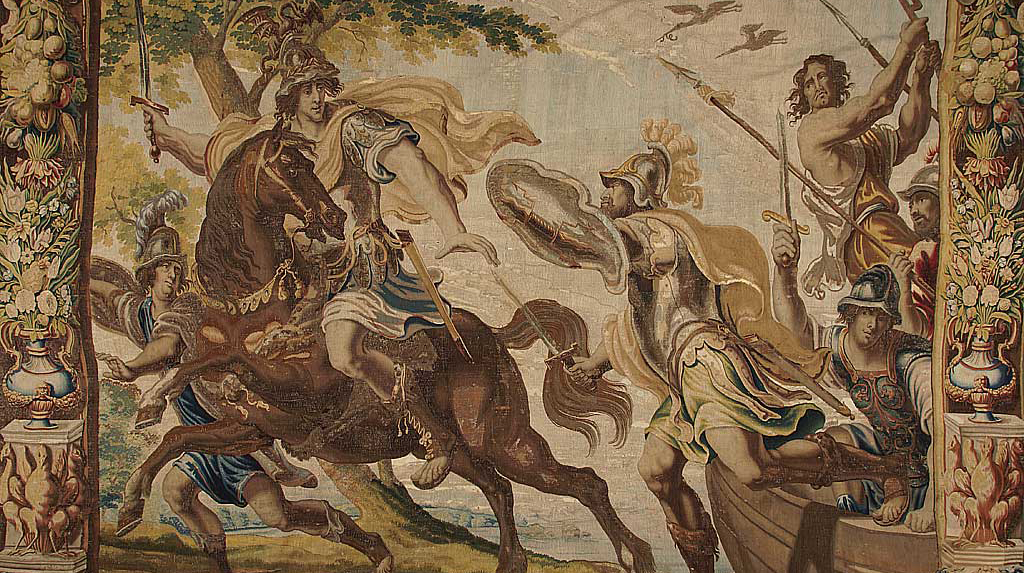 Hauts Faits De L Antiquite Et Couleurs Baroques Le Temps