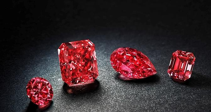 Rio Tinto Met En Vente Quatre Rarissimes Diamants Rouges Le Temps