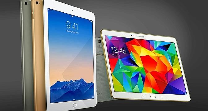 Les tablettes d apple et de samsung affichent d sormais - Prix de tablette samsung ...
