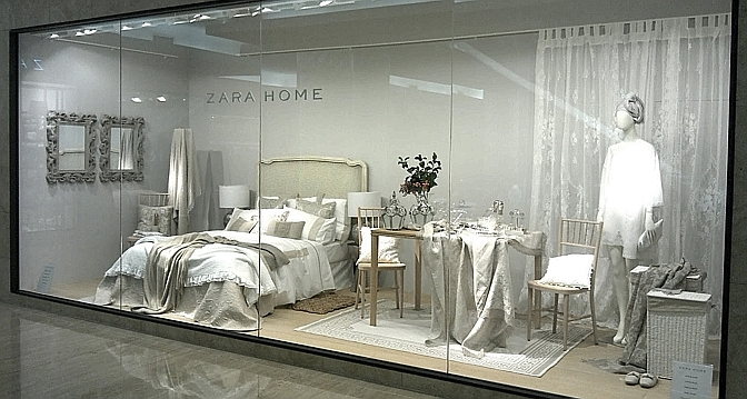 l empire inditex tend son r seau gen ve avec le premier magasin zara home de suisse le temps. Black Bedroom Furniture Sets. Home Design Ideas