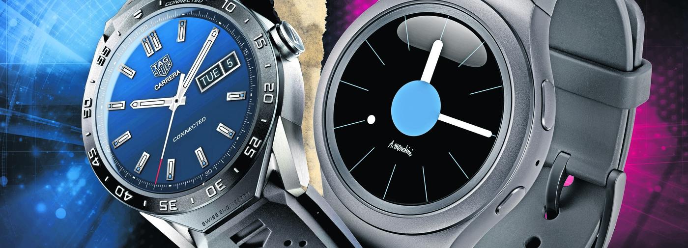 tag heuer contre samsung deux montres connect es face face le temps. Black Bedroom Furniture Sets. Home Design Ideas