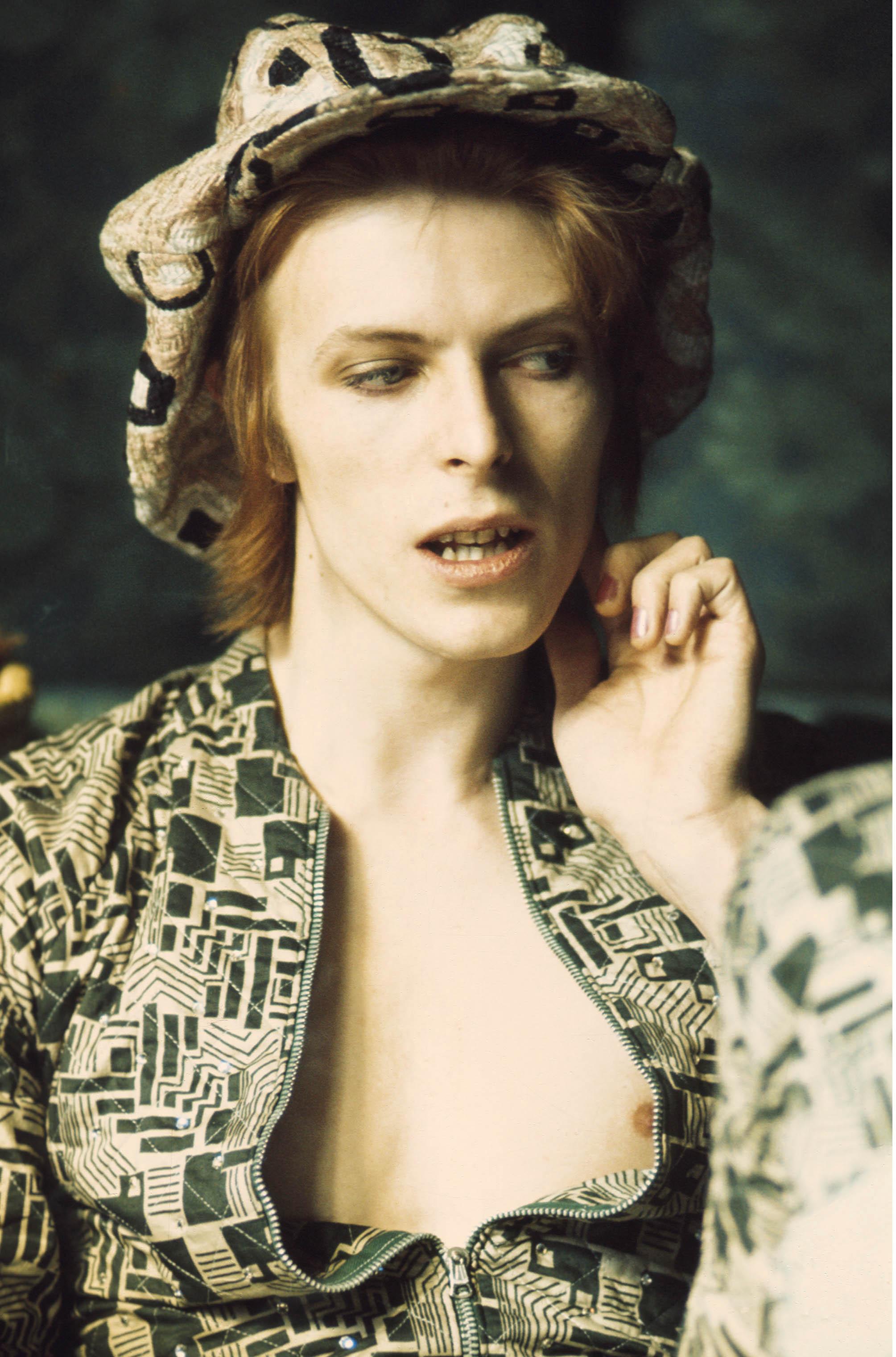 David Bowie The 1972 Amercain Tour