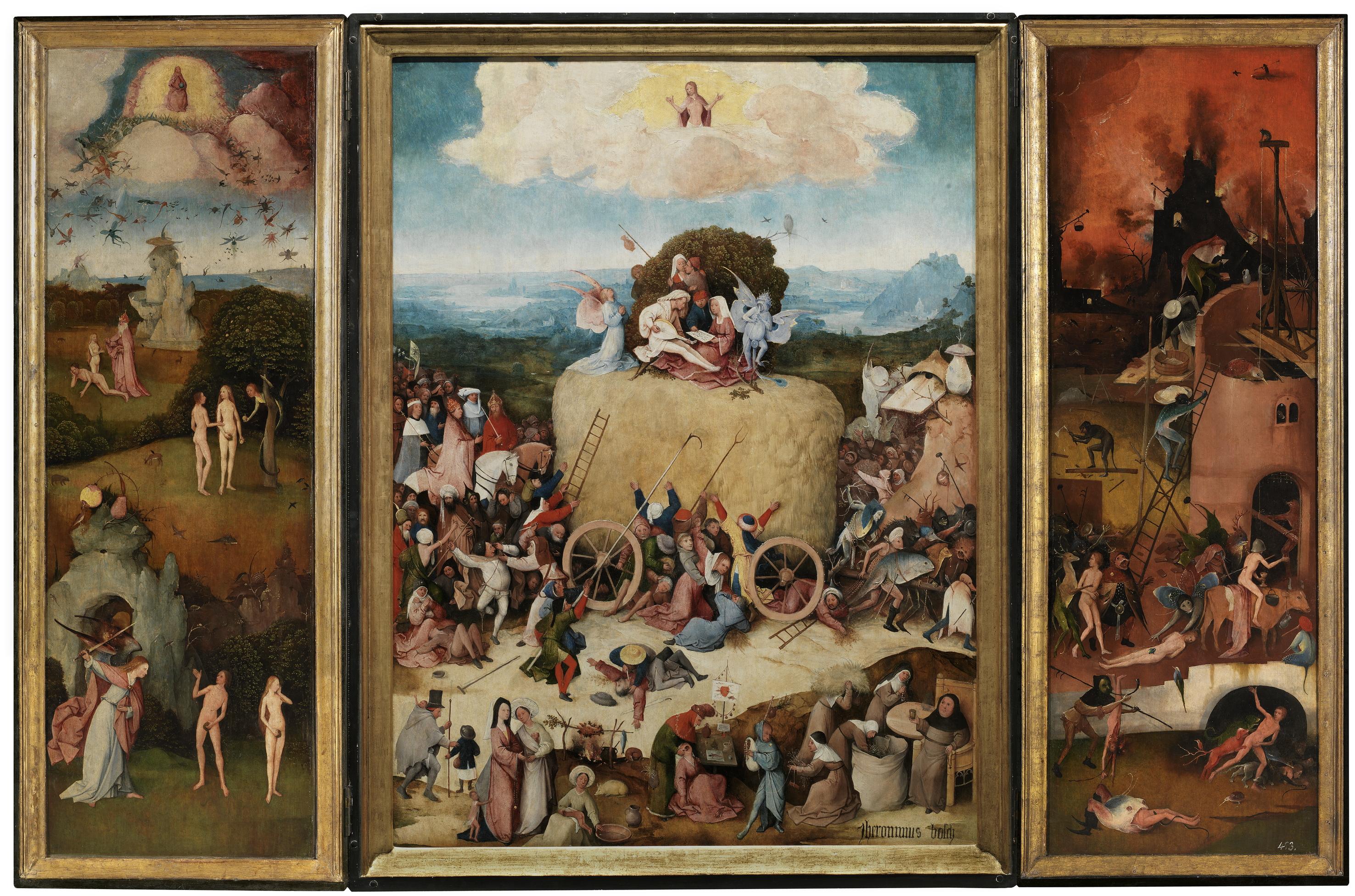 Le Jardin des délices l extravagant chef d œuvre de Jér´me Bosch