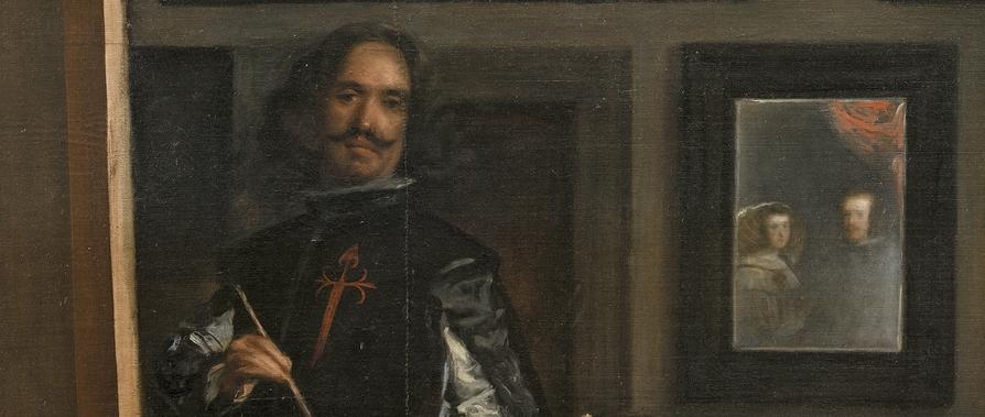 Le peintre le roi et les spectateurs le temps for Miroir qui se colle