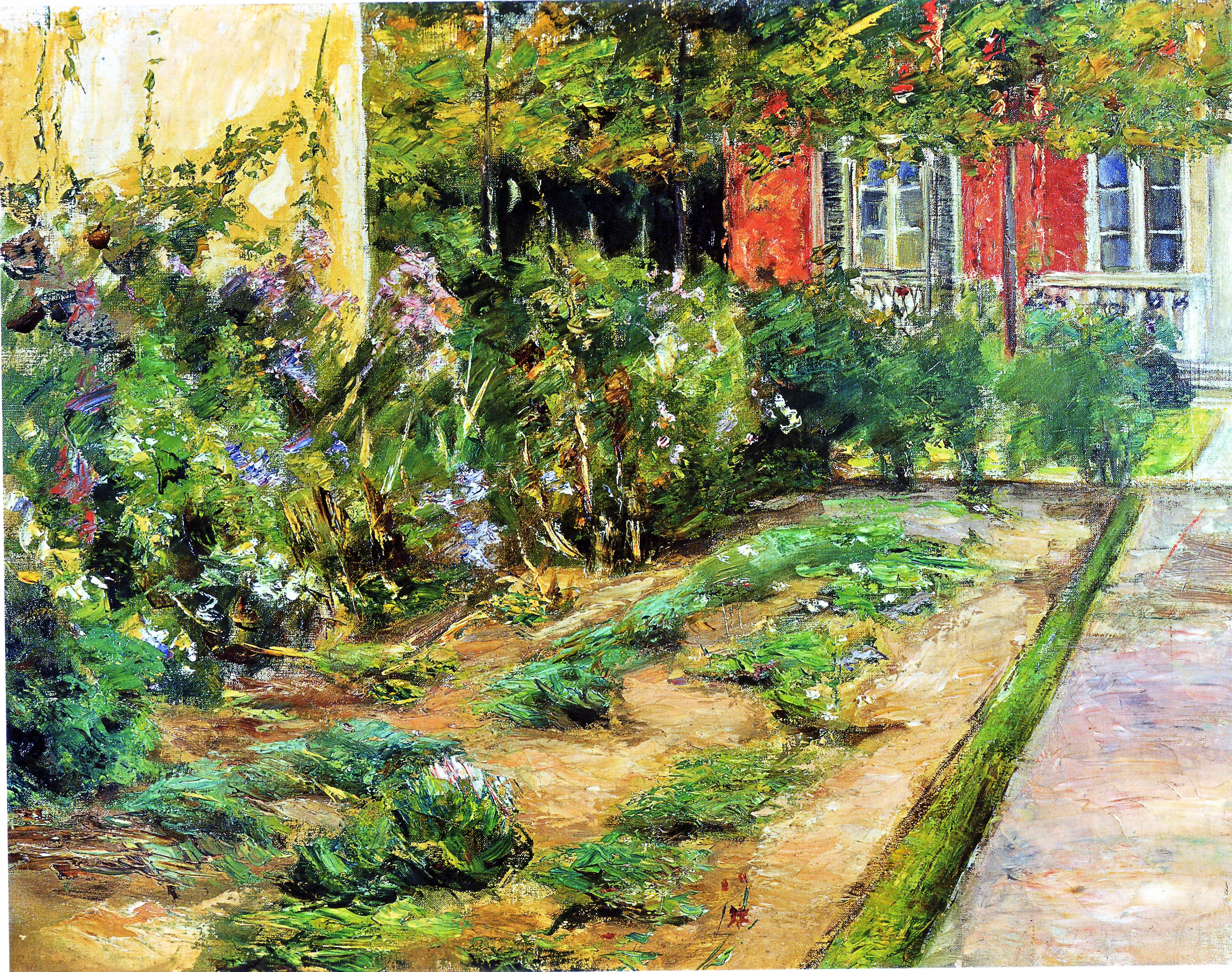 Max liebermann l art nouveau des jardins le temps - Maison jardin berlin ...