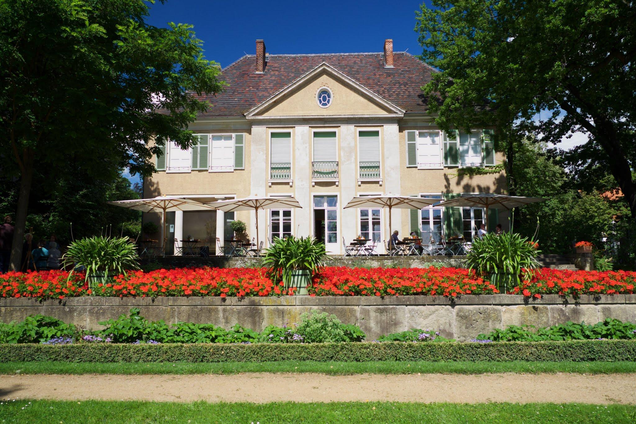 Max liebermann l art nouveau des jardins le temps - Terrasse jardin ville tours ...