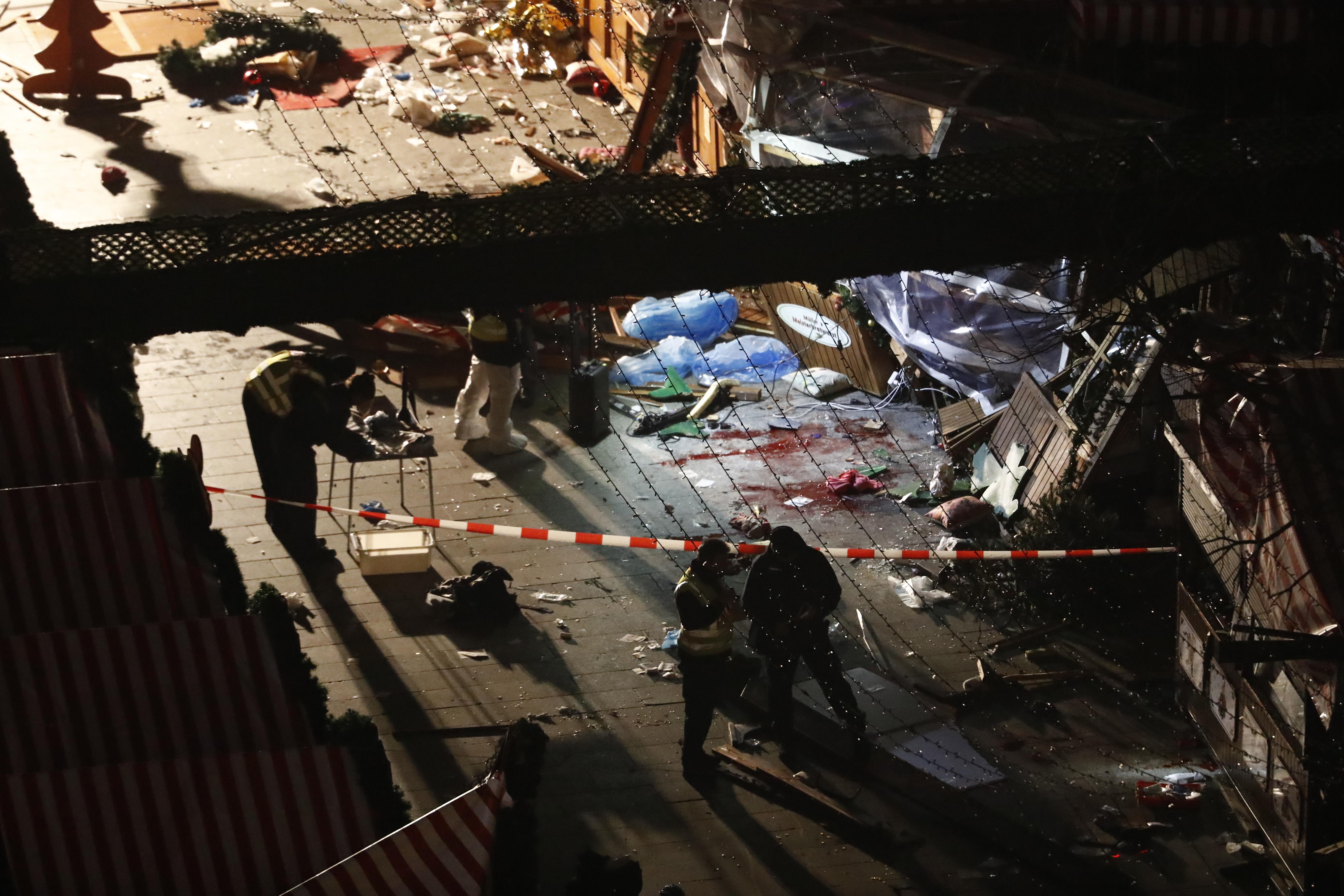 Ce que l'on sait de l'enquête — Attentat à Berlin