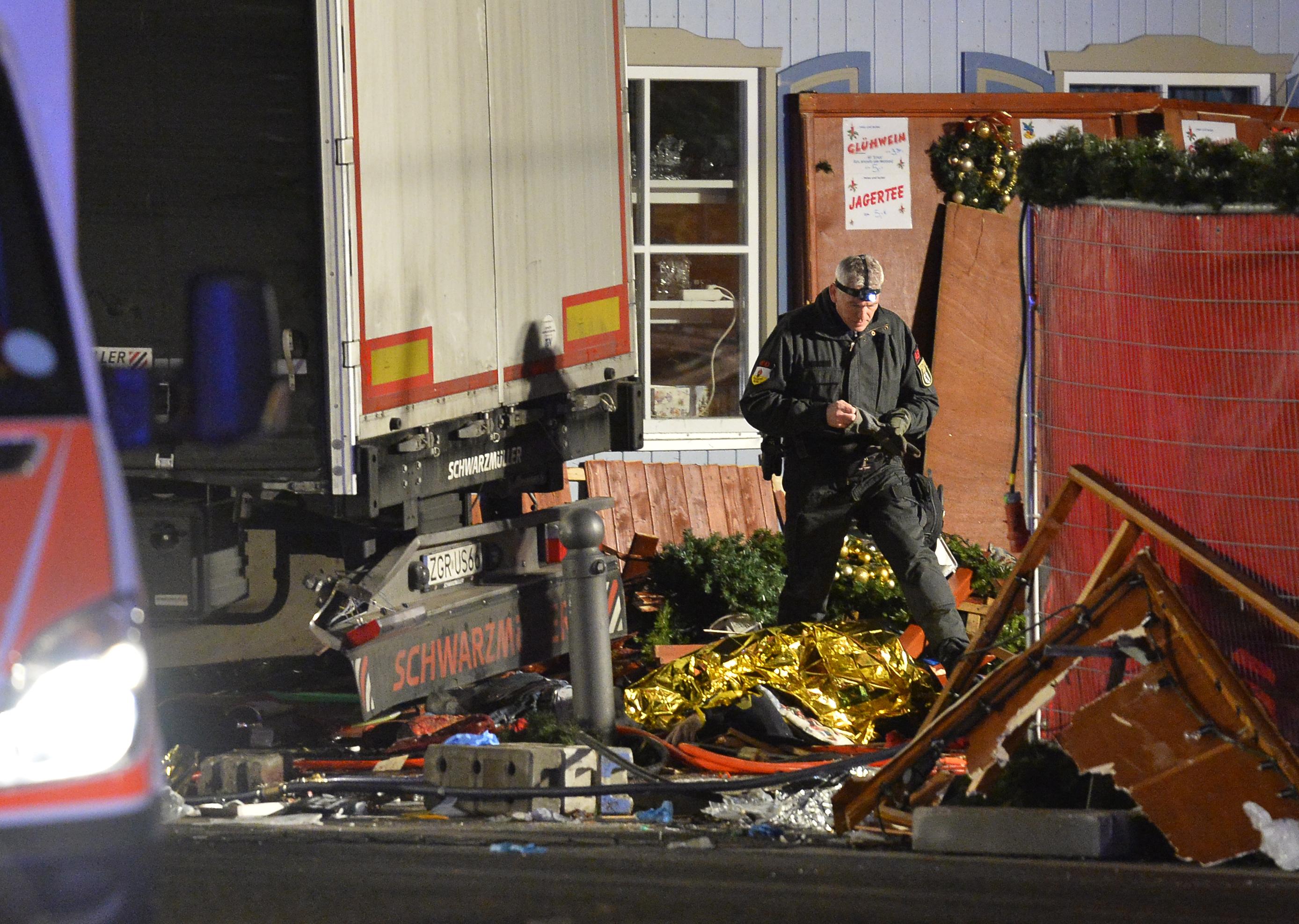 Le suspect de l'attaque au camion nie les faits