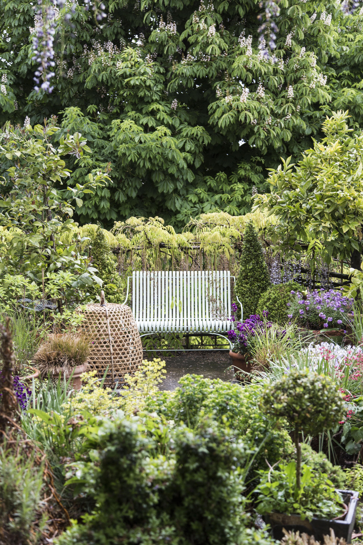 A Rolle tea time dans jardin fleuri Le Temps