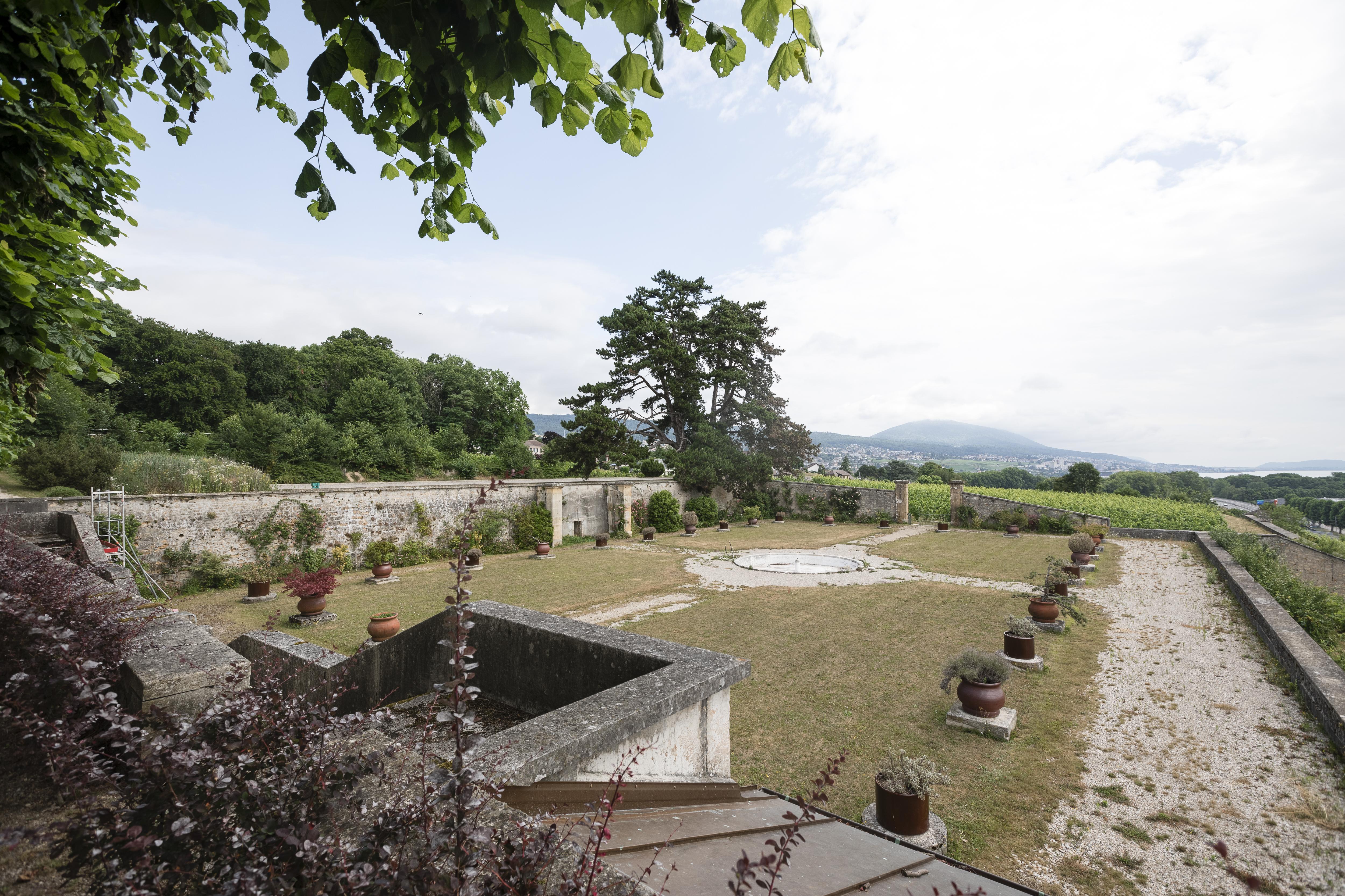 Le château de Vaudijon, creuset de la renaissance du vin à Neuchâtel ...