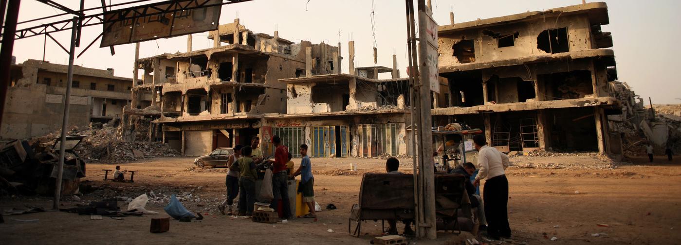 Dans le camp de Nahr el-Bared, la détresse des Palestiniens - Le Temps