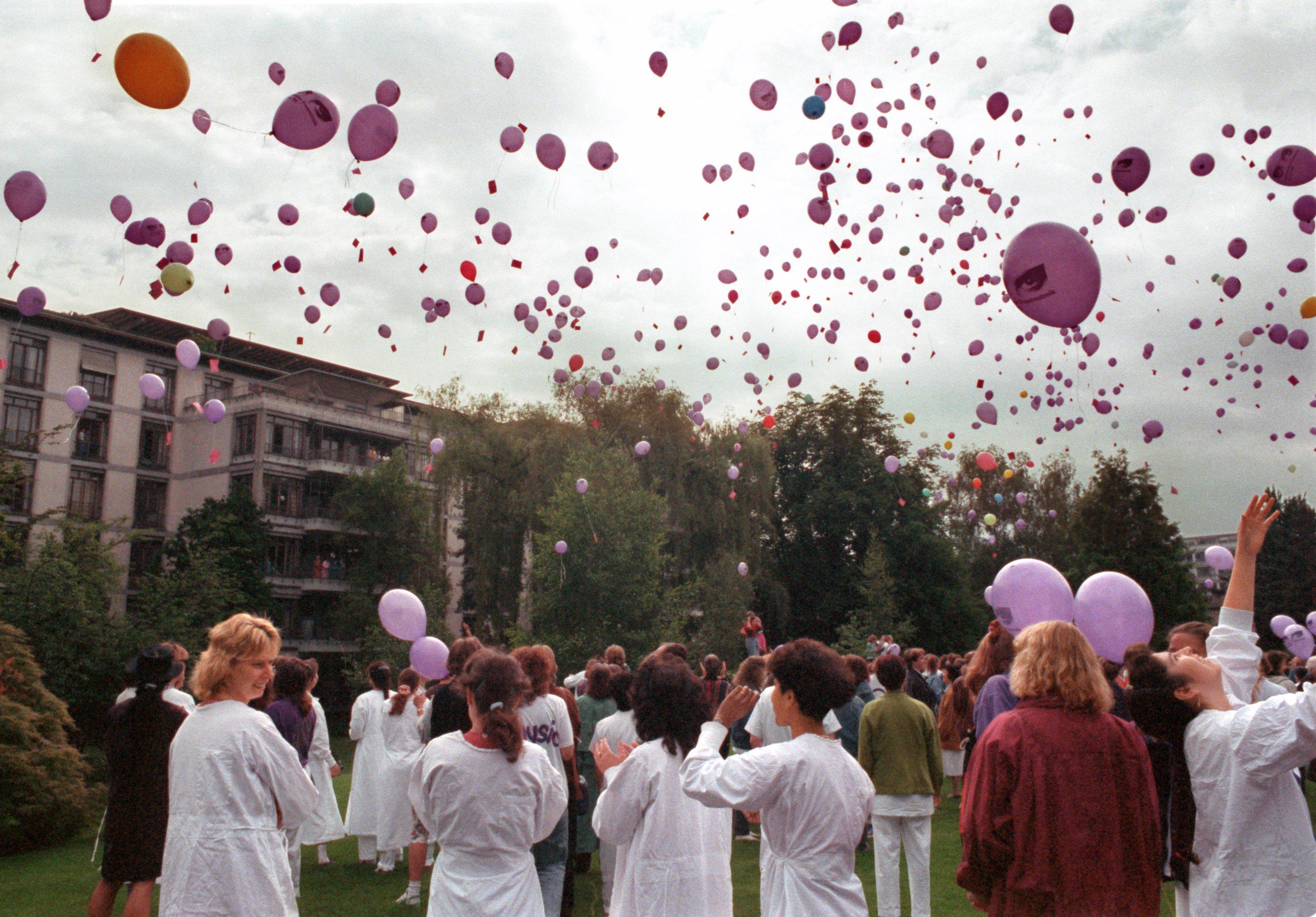 Le violet, couleur du féminisme