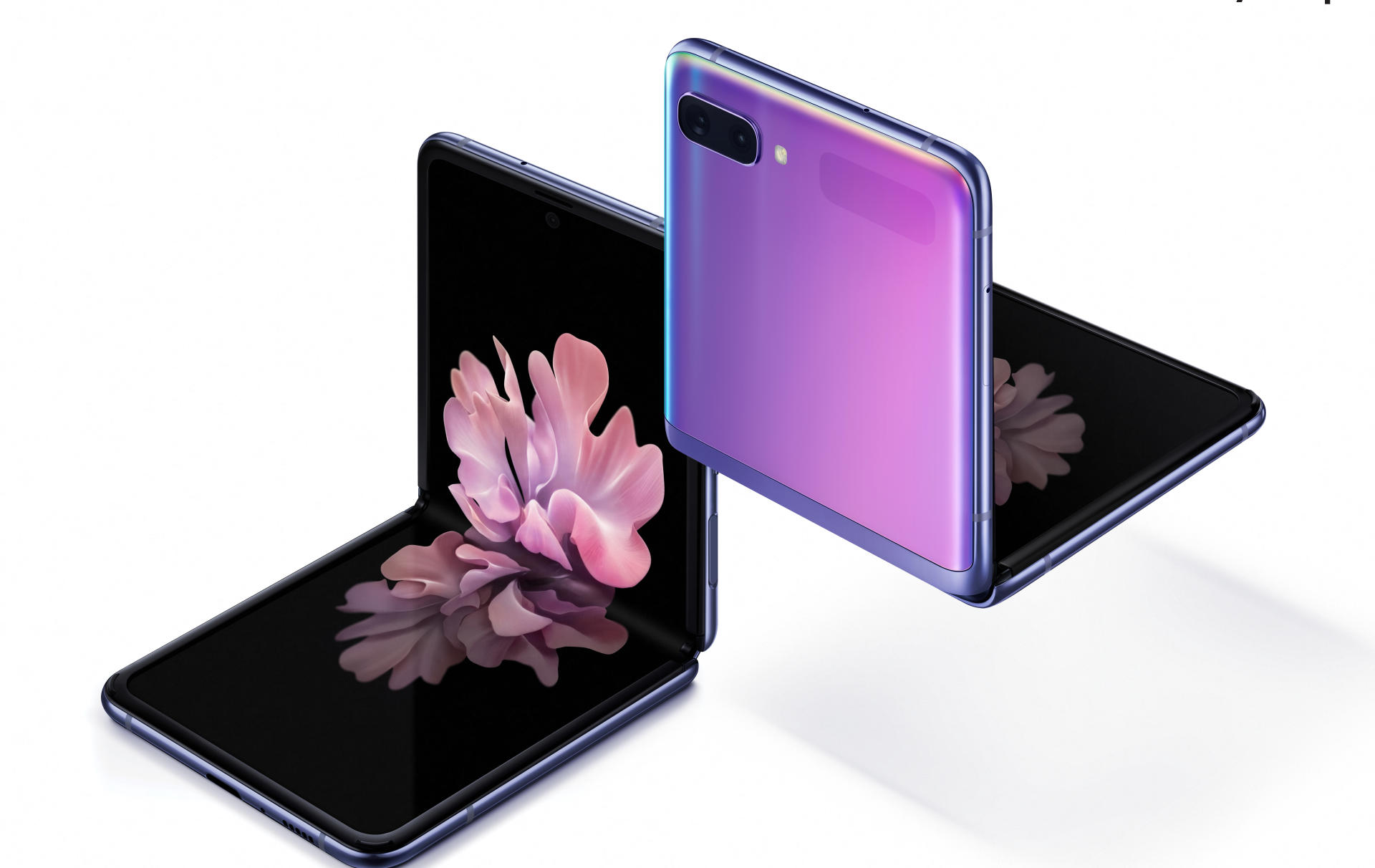 Le Z Flip De Samsung Etrange Telephone Pliable Le Temps