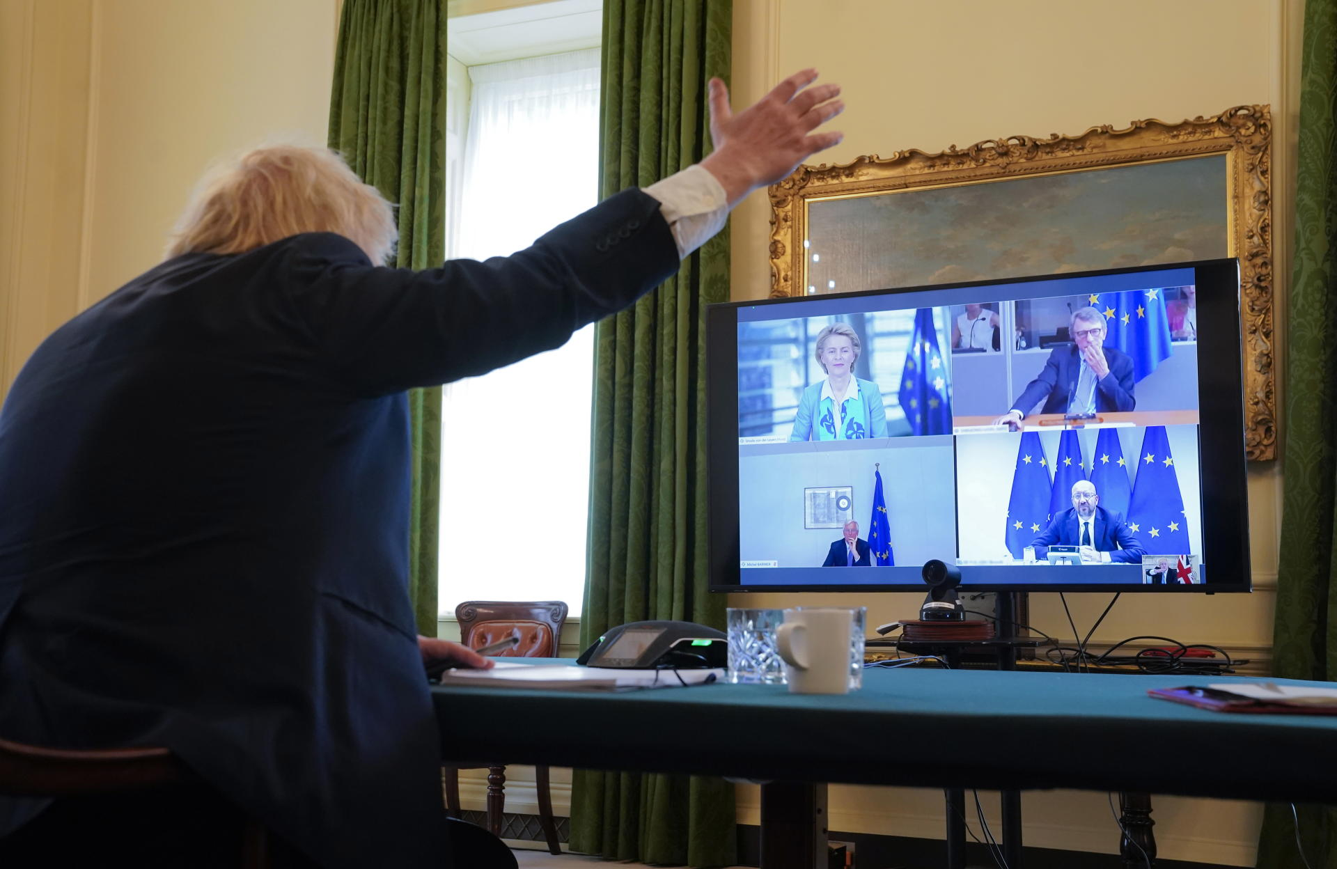 Visite Du 10 Downing Street Residence Officielle Du Premier Ministre Britannique