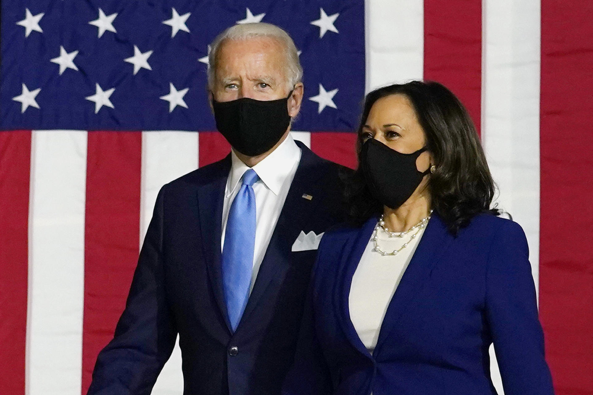 Joe Biden et Kamala Harris promettent de «reconstruire» l'Amérique  post-Trump - Le Temps