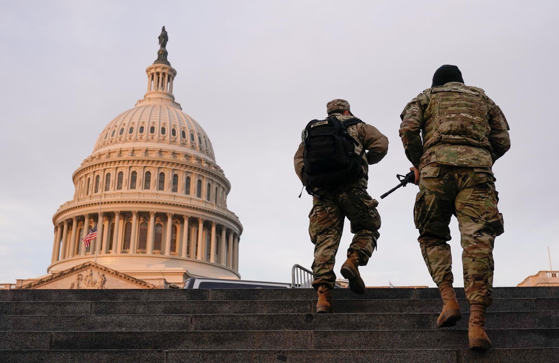 Alerte maximale à Washington - Le Temps