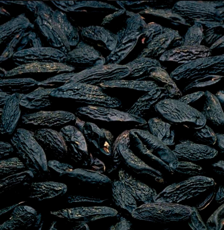 Vétiver et fèves de tonka