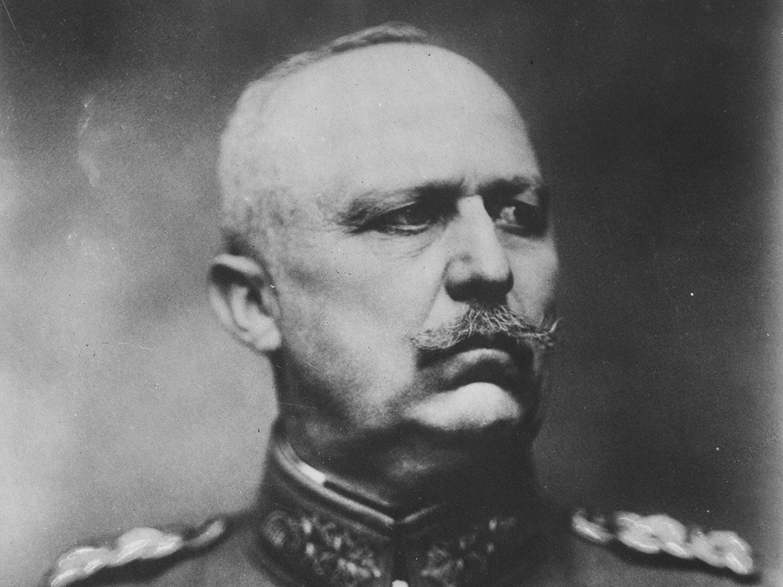Le général Erich Ludendorff.