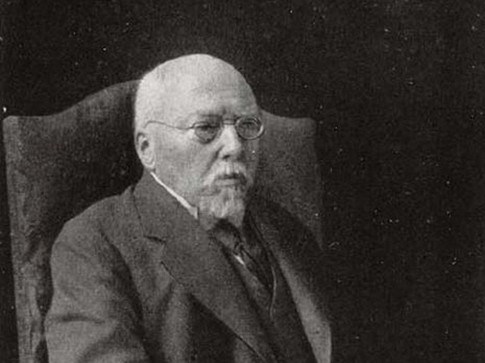 Le chancelier allemand Georg Graf von Hertling en 1919.