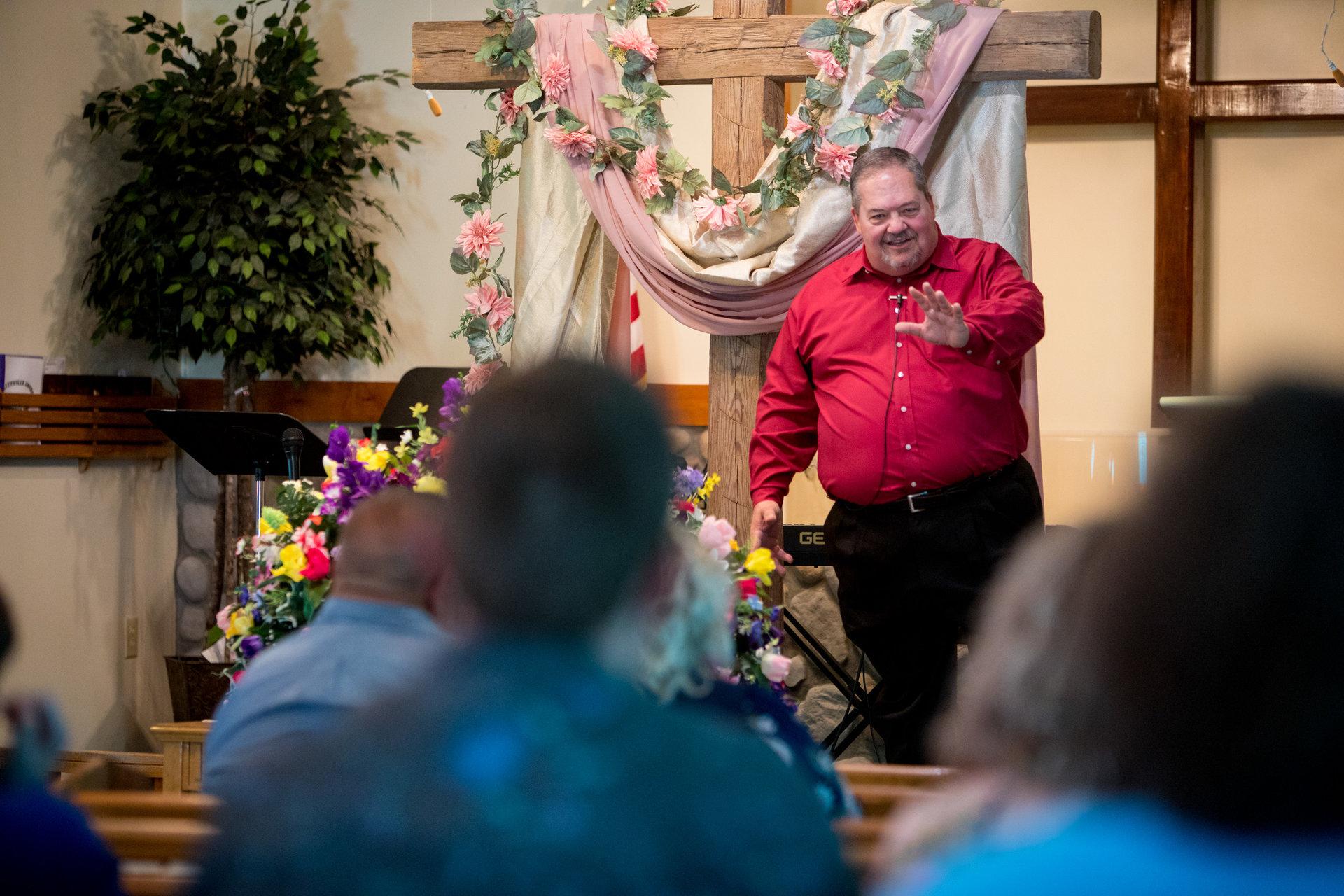 Ricky Isaacs, pasteur de la petite église de Nazarene à Beattyville.