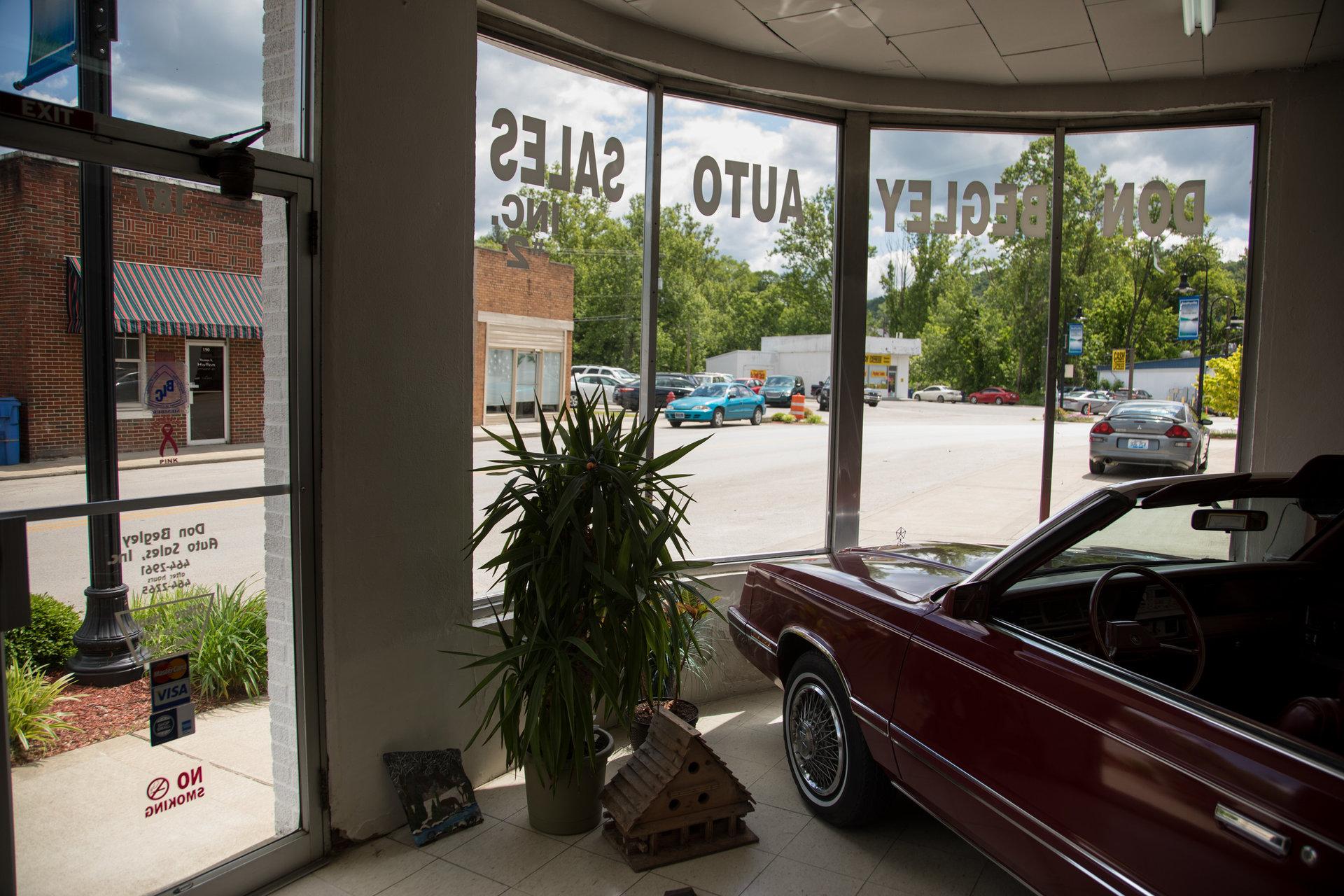 Le magasin de voitures de Don Begley est un point de repère depuis des générations à Beattyville.