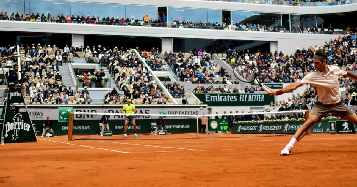 Federer-Nadal, comme un ouragan