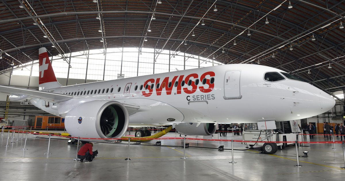 Swiss immobilise sa flotte d'Airbus A220