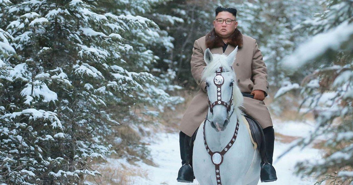 Quelle est la couleur du cheval blanc de Kim Jong-un?