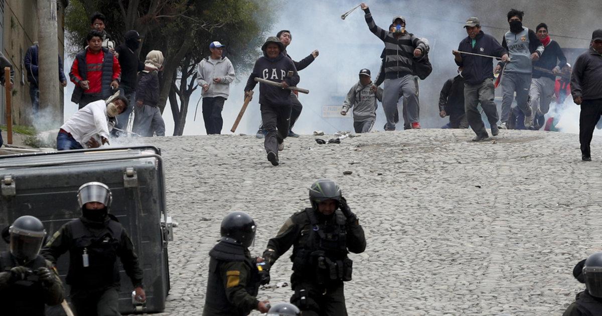 Le départ d'Evo Morales crée un vide de pouvoir