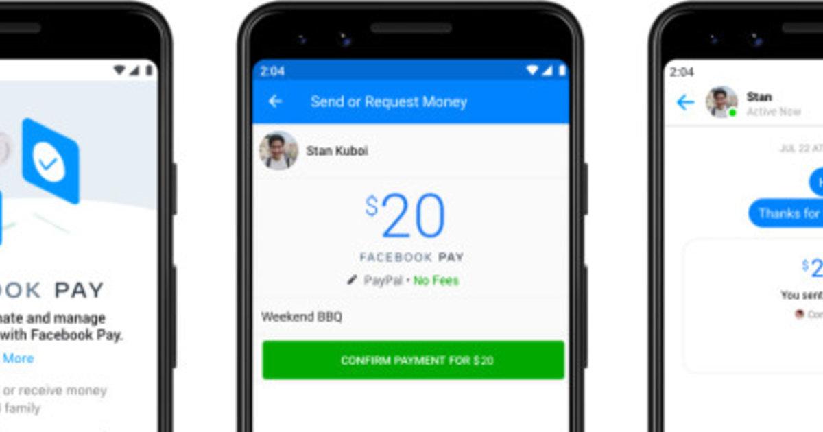 En attendant la libra, Facebook lance «Pay»