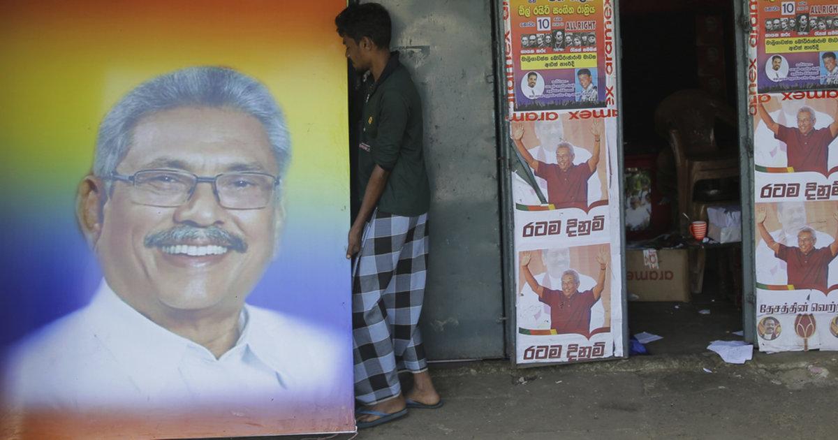 Gotabaya Rajapaksa, un politicien brutal au seuil du pouvoir sri-lankais