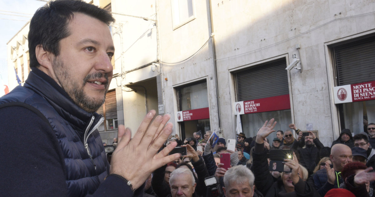 En Emilie-Romagne, le référendum national de Matteo Salvini