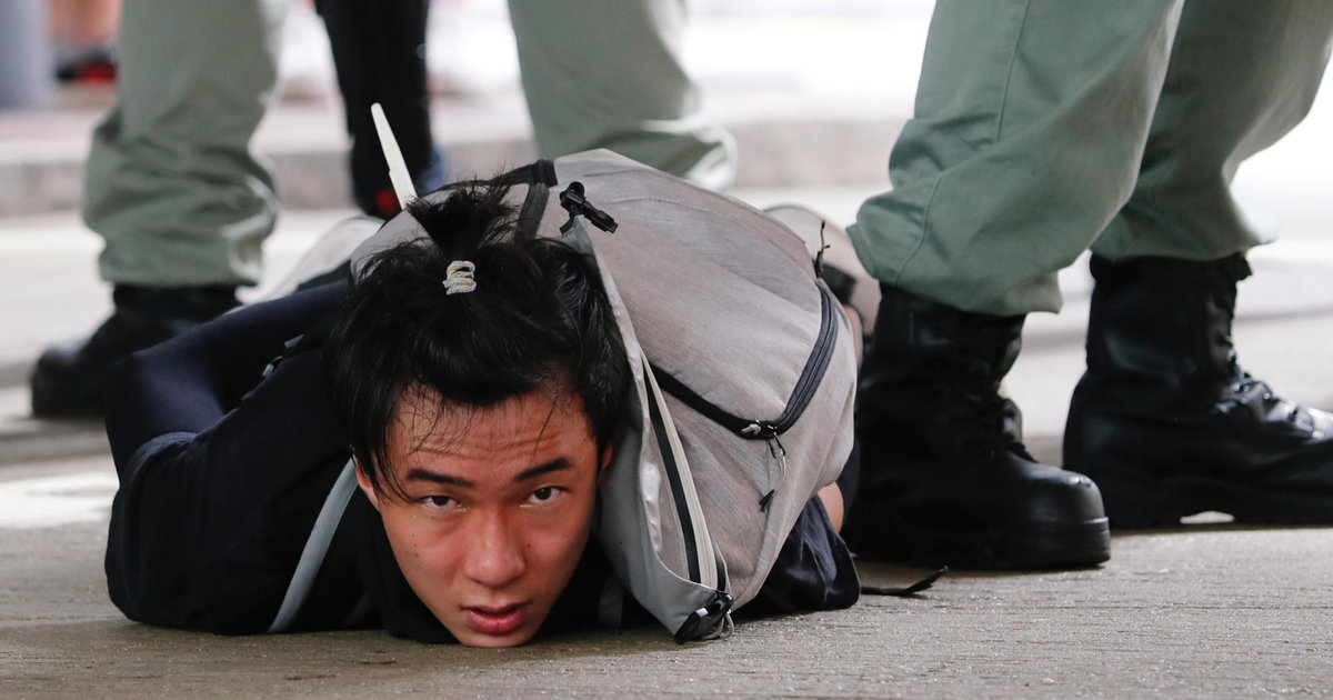 Première arrestation à Hongkong après l'adoption de la loi sur la sécurité