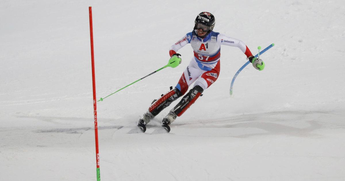 L'exploit discret de la jeune slalomeuse Camille Rast - Le ...