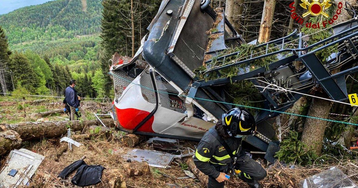 ტრაგედია იტალიაში: საბაგირო ტროსი გაწყდა და ჩამოვარდა - გარდაცვლილია 14 ადამიანი (ვიდეო)