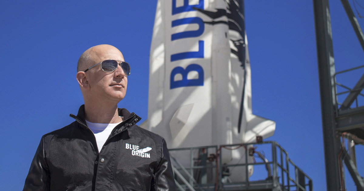 Jeff Bezos inaugurera le 20 juillet les voyages spatiaux de Blue Origin