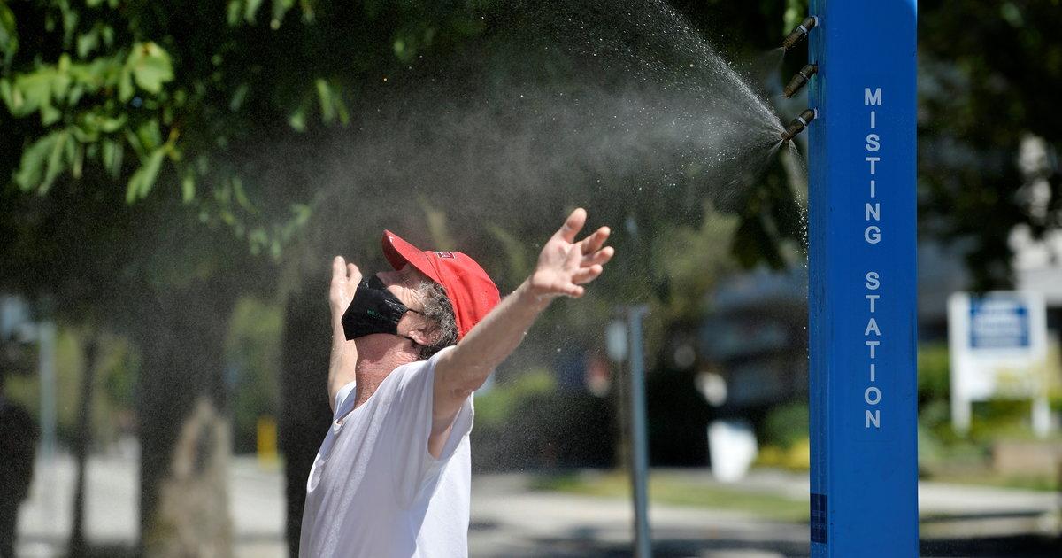 Au Canada, un «dôme de chaleur» entraîne des températures record