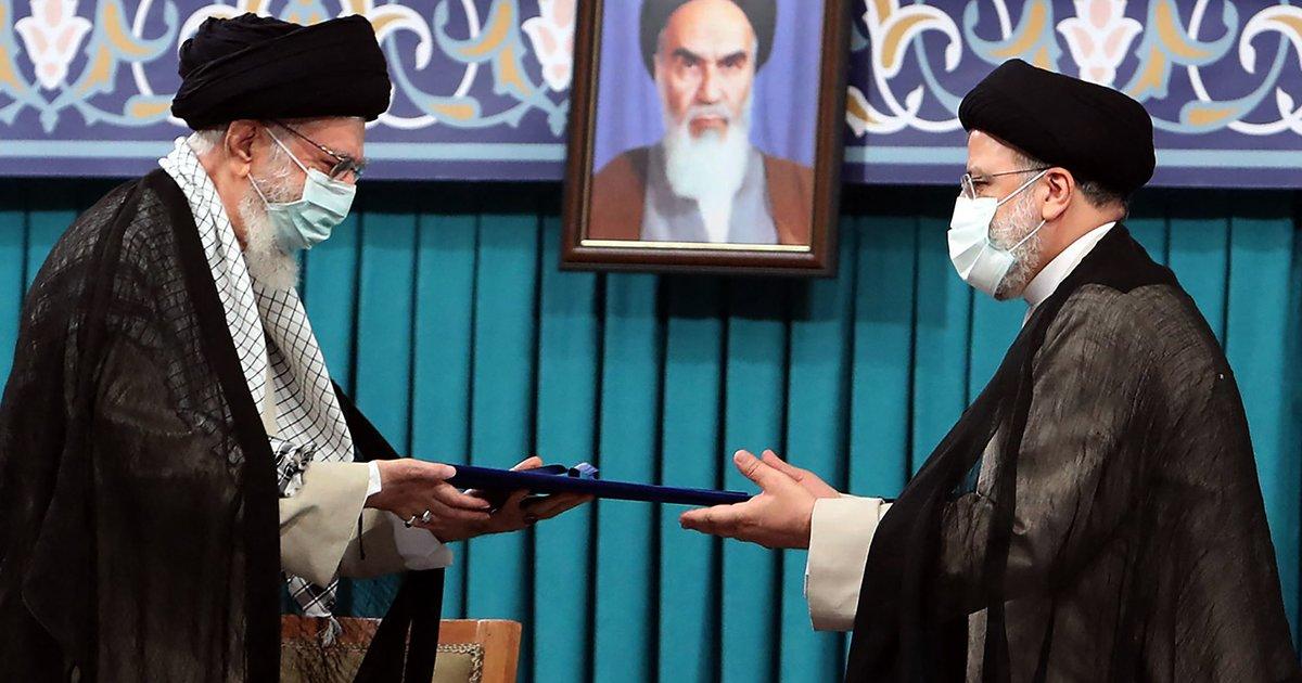 En Iran, des tensions accompagnent l'arrivée du président Raïssi