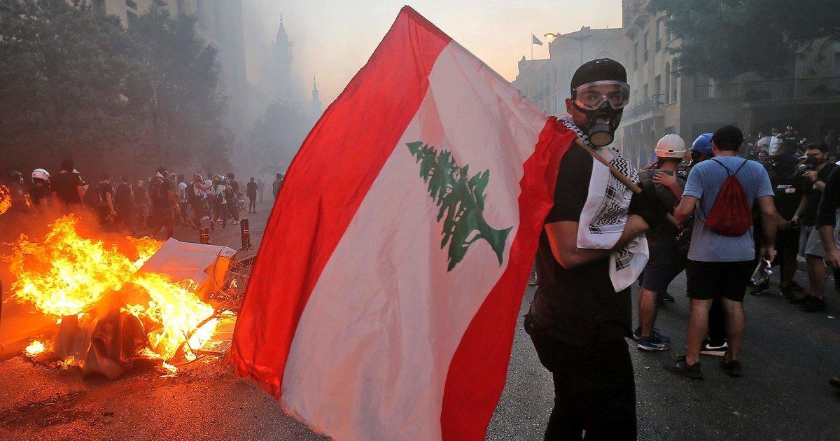 A Beyrouth, à 18h07, le silence se fait...