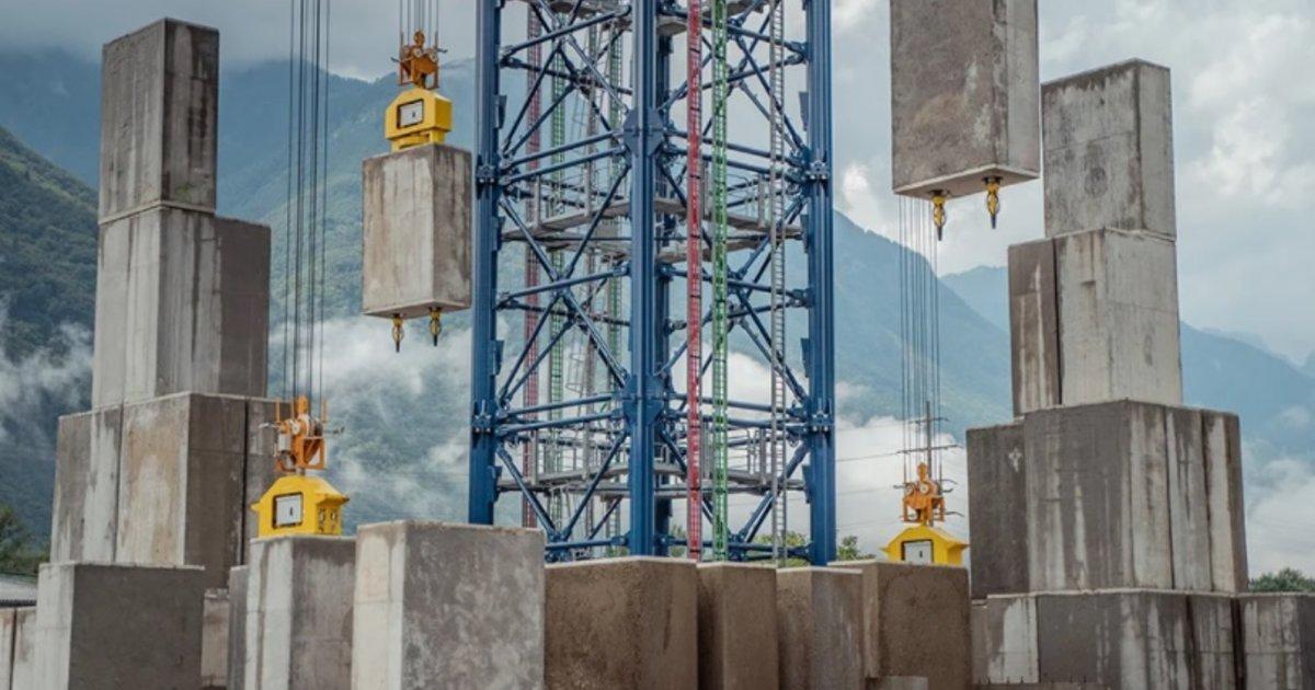 Energy Vault veut hâter la décarbonation de la planète