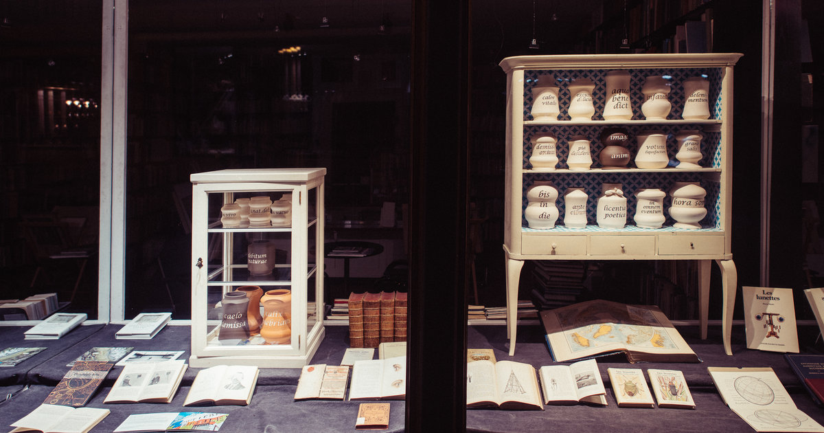 A Bienne, l'art en mode lèche-vitrine